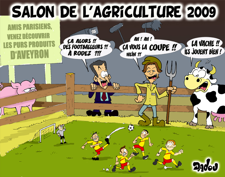 La caricature de la semaine - Salon de l agriculture place gratuite ...